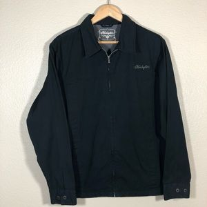 Hurley Int. Embroidered Logo Lightweight Jacket